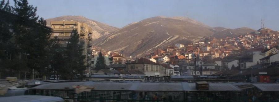 City outside Prilep, Macedonia