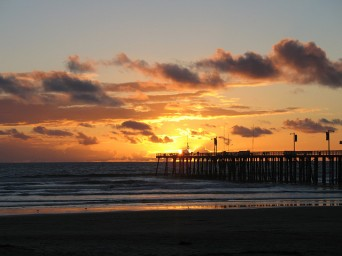 Pismo Beach, CA Sunset