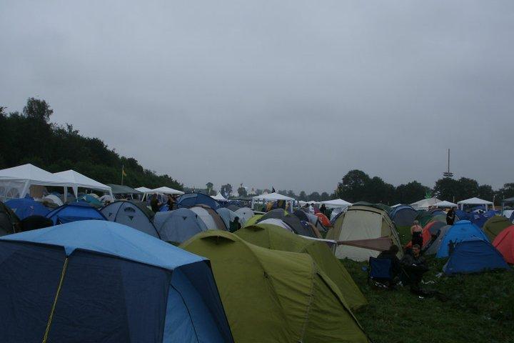 Tents pitched at Wacken Open Air 2011 & Rockinu0027 in Waken W:O:A 2011 u2013 108 Klicks Around the World