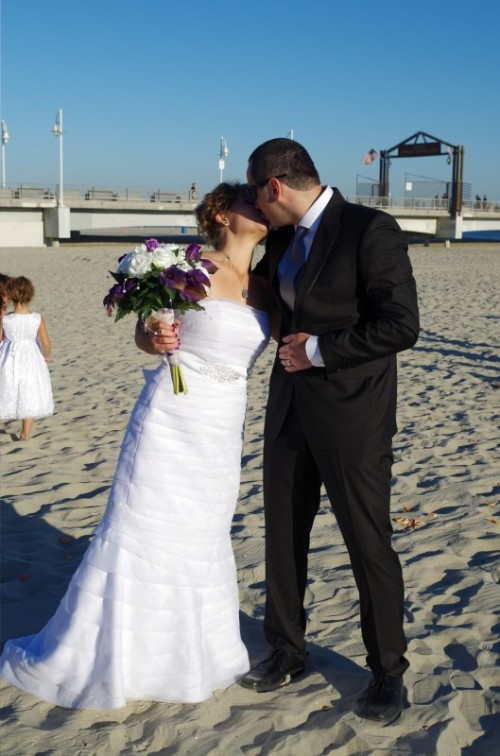 Our wedding in Long Beach, CA