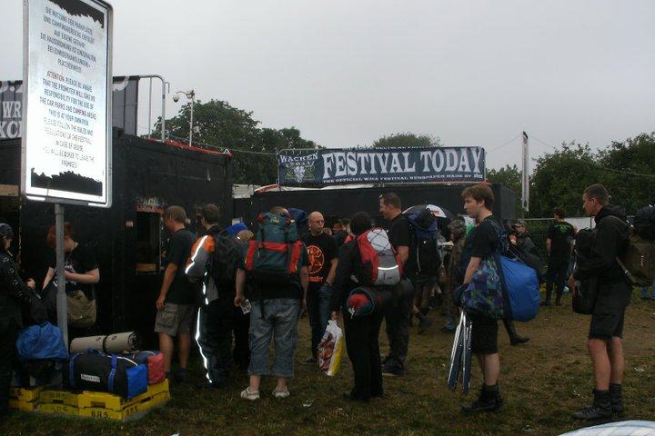 Wacken Open Air Festival 2011 Entrance
