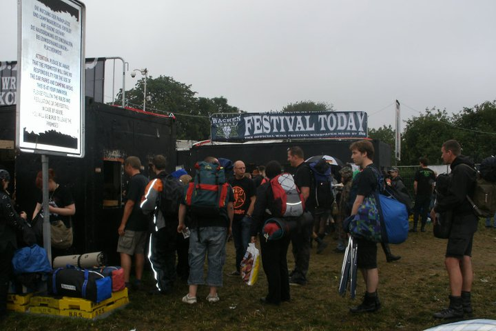 Wacken Open Air Festival 2011 Entrance