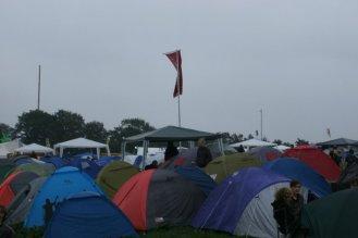 Campsite at Wacken