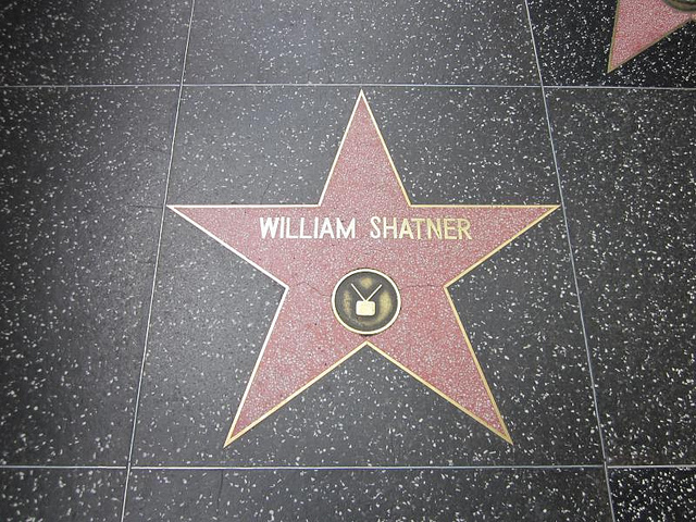 William Shatner - Hollywood Walk of Fame