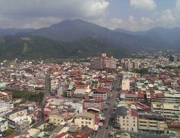 Puli, Nantou in Taiwan