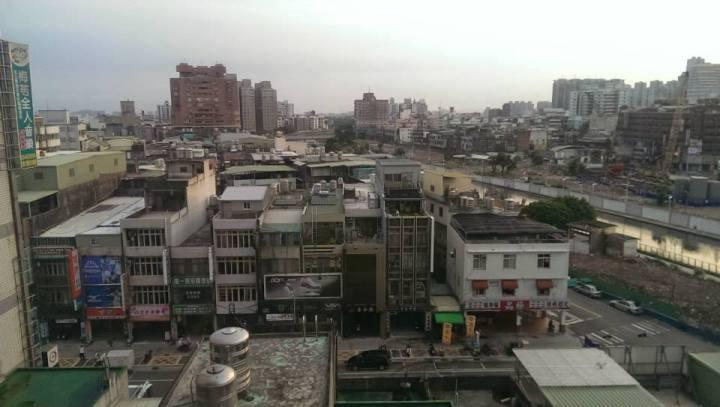 View from inside Pu Zhung Zen Center