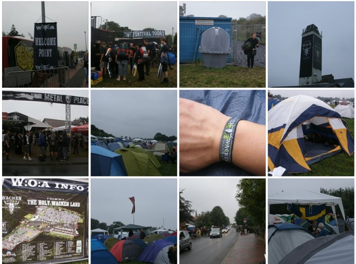 Wacken Entrance and Tents