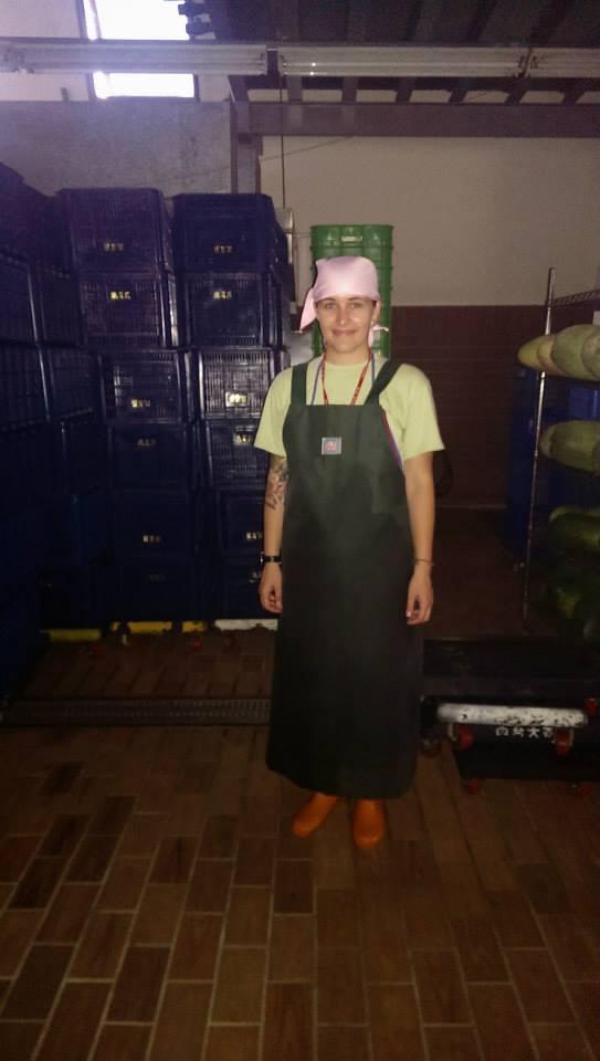 Working meditation at Chung Tai Chan Monastery