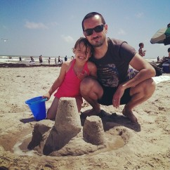 Fun in the sand in Galveston