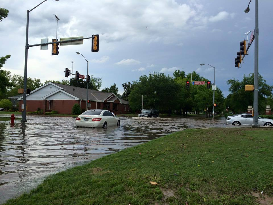 Flooding in Norman, OK May 2015