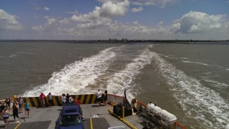 Galveston transportation ferry