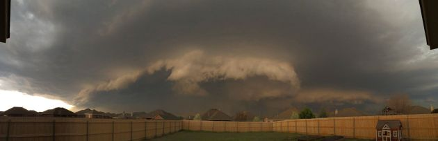 Tornado season SW OKC May 2015