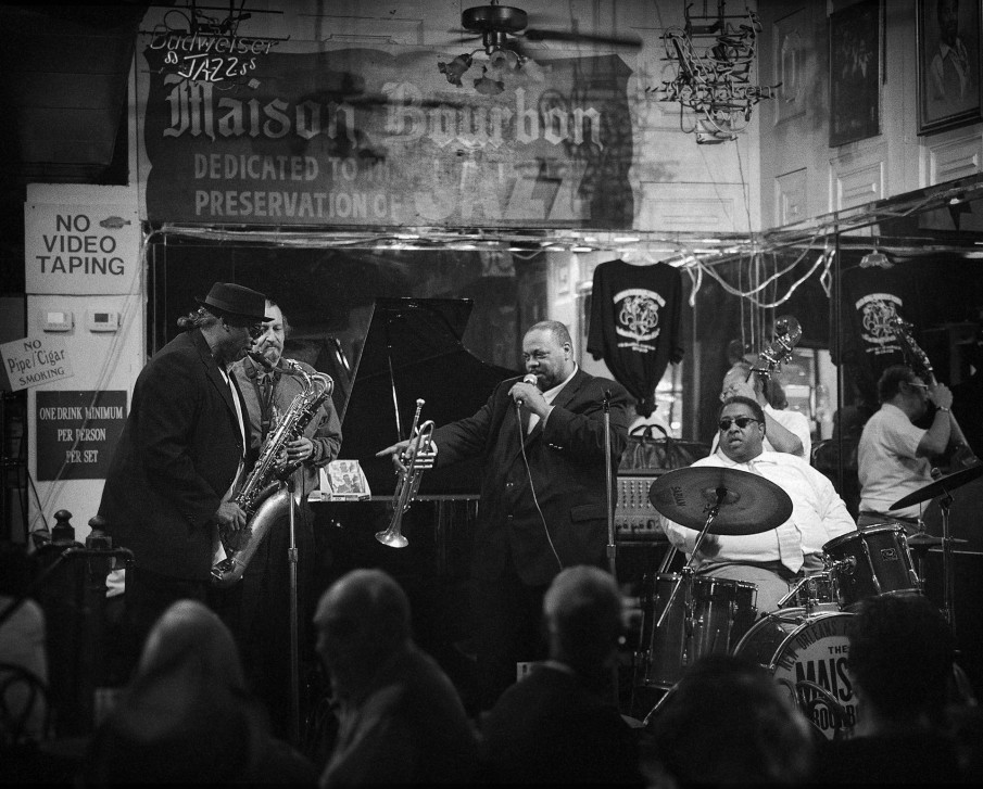Jazz Club in New Orleans