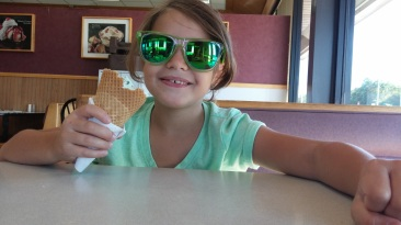 Stopping for ice cream