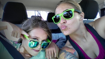 Sun glasses for our road trip
