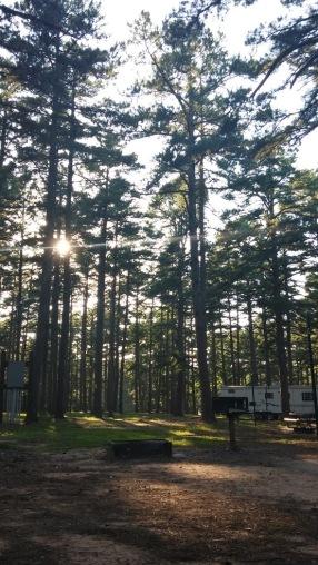 Petit Jean State Park campsite