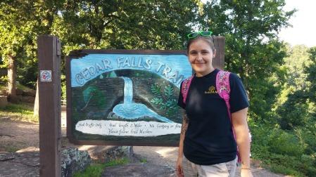 Cedar Falls Trail at Petit Jean State Park