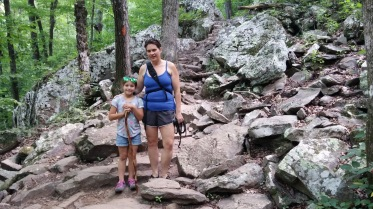 Hiking Cedar Falls Trail at Petit Jean State Park