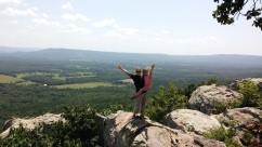 Petit Jean grave site overlook