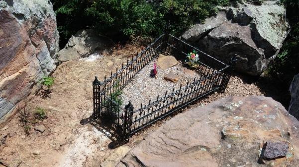 Petit Jean's grave site