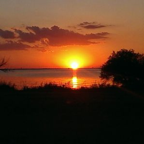 Lake Hefner Sunset in OKC