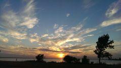 Lake Hefner in Oklahoma City