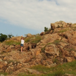 Hiking in Wichita Mountains Wildlife Refuge