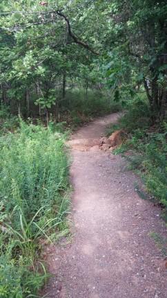 Wichita Mountains Wildlife Refuge Hiking Trail