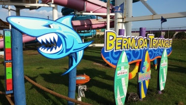 Bermuda Triangle Ride at White Water Bay