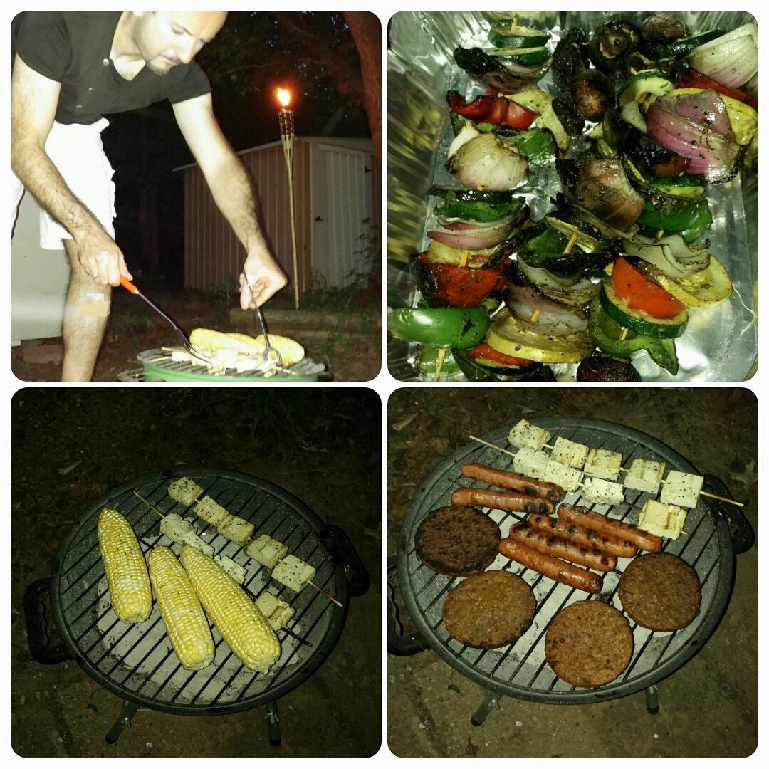 Grilling Vegetarian Food