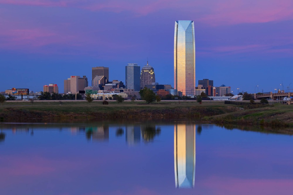 Oklahoma City at dawn