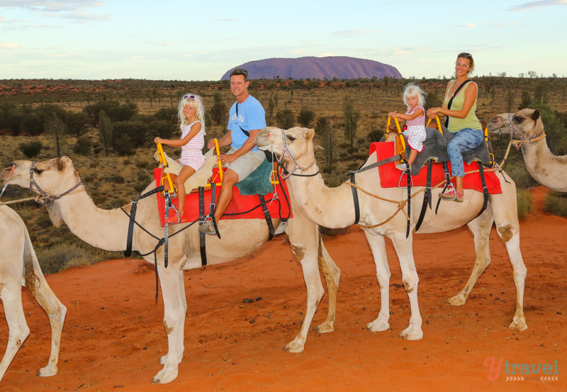 Uluru Camel Ride - ytravel