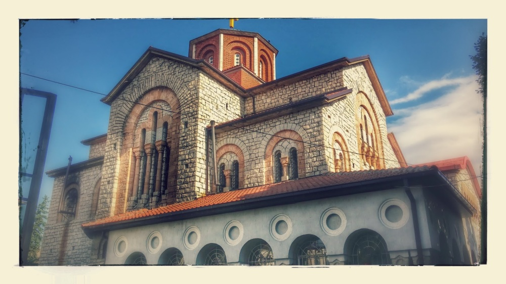Church in Prilep, Macedonia