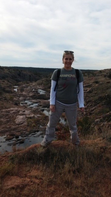 Hiking the Bison Trail in Oklahoma