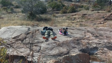 Resting on the Bison Trail
