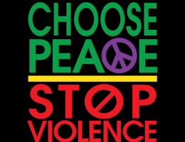 Choose Peace Stop Violence logo