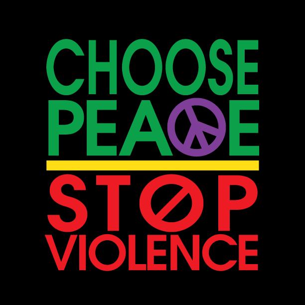 Choose Peace Stop Violence logo