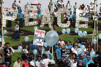 Myanmar Peace Rally