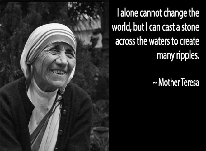 Mother Teresa peace quote