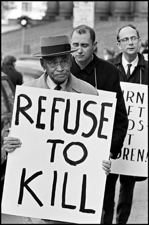 Peace Rally in New York City, 1965
