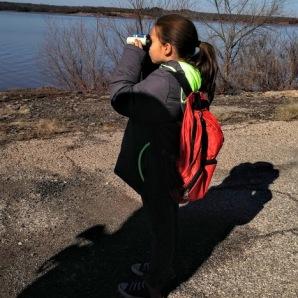 Eagle watching at Lake Thunderbird