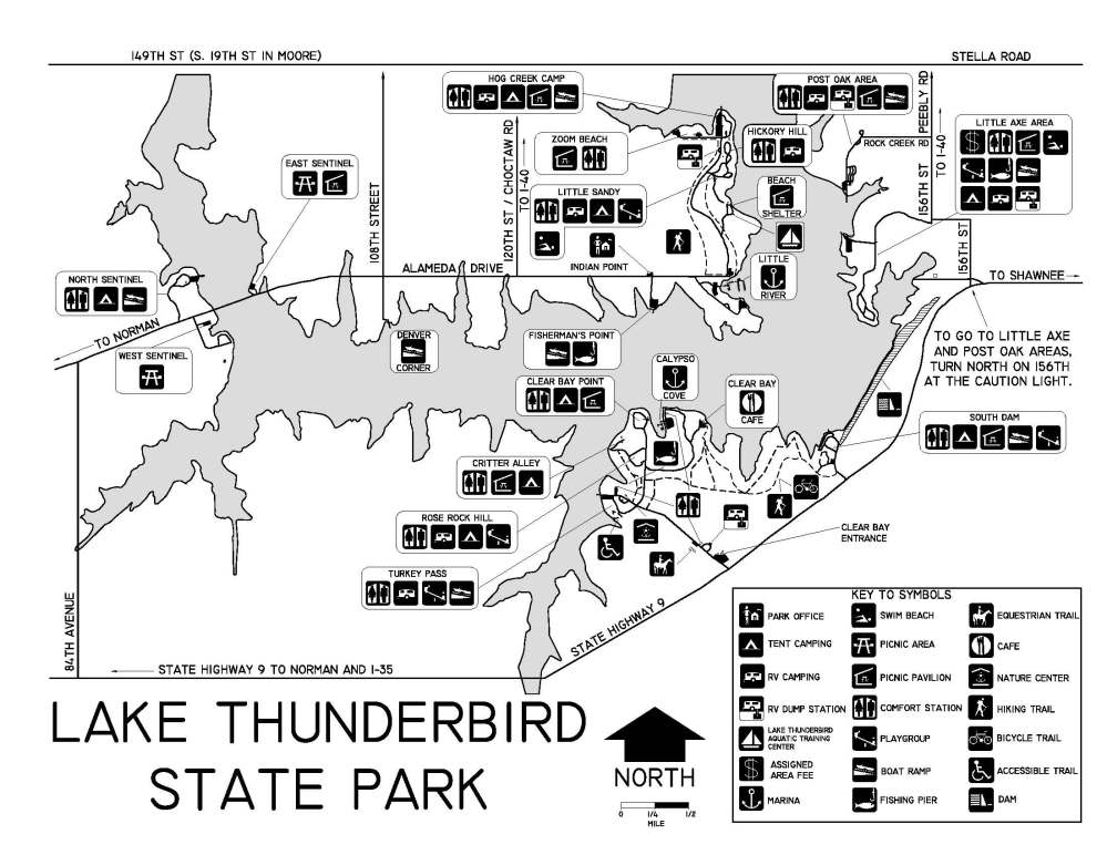Map of Thunderbird