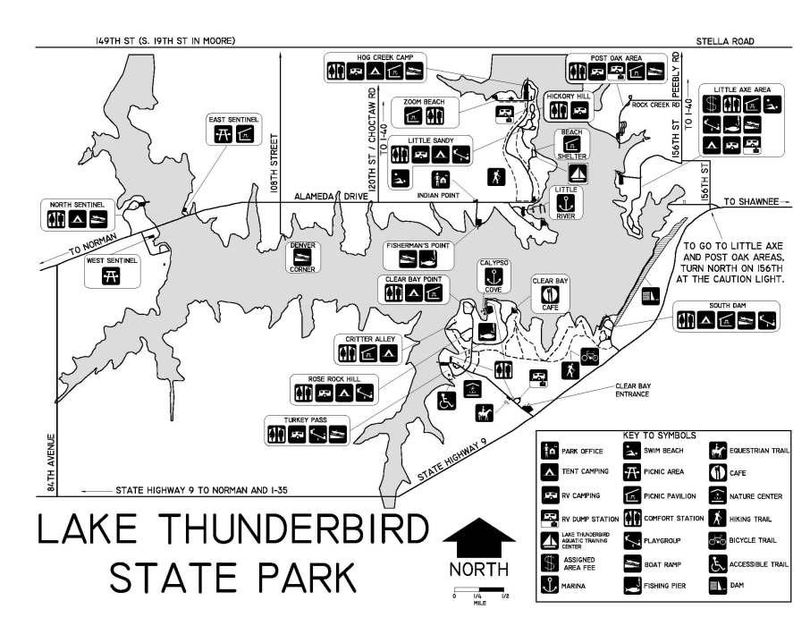 Map of Thunderbird