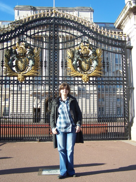 Perfect Sunny Day near Buckingham palace