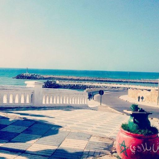 Moroccan coast