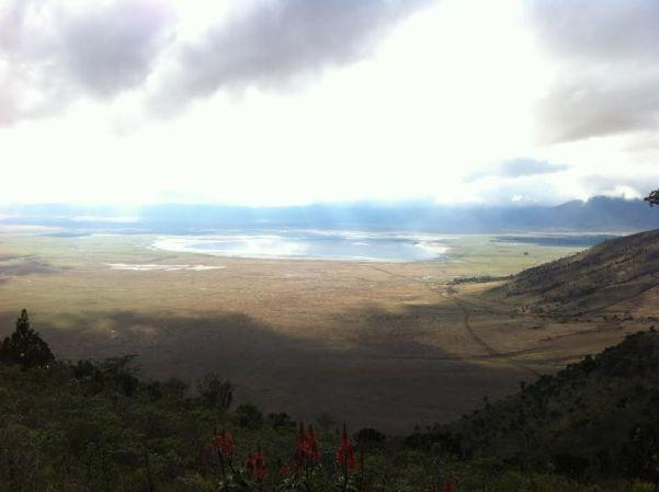 Ngorongoro Conservation landscape