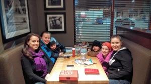 Family in Winnipeg, Canada