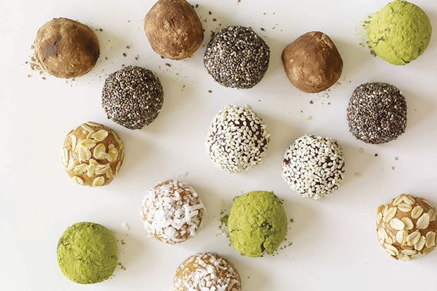 Quick 5-Minute Protein Truffles