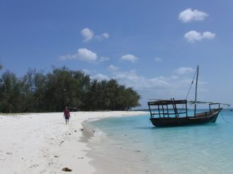 Beautiful Beach in Zanzibar