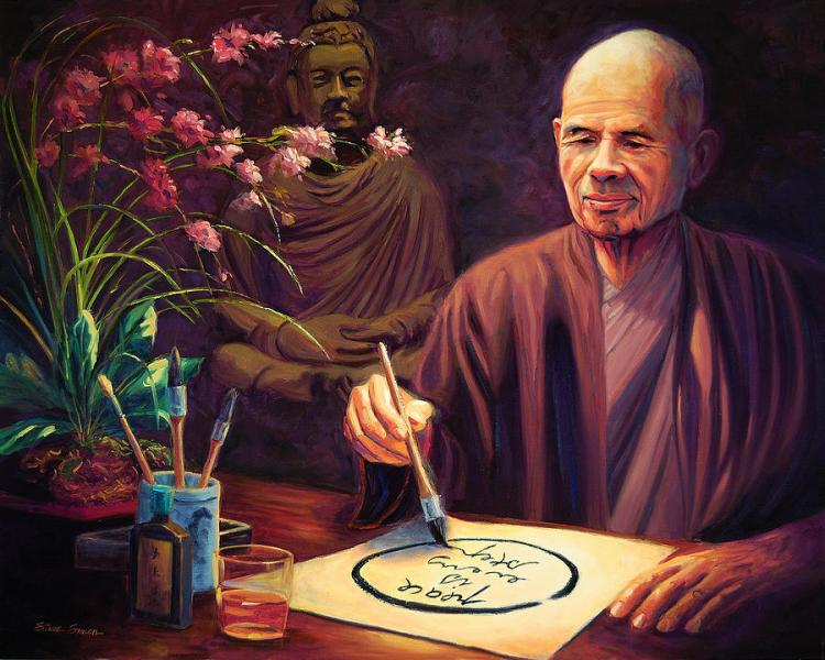 Thich Nhat Hanh by Steve Simon